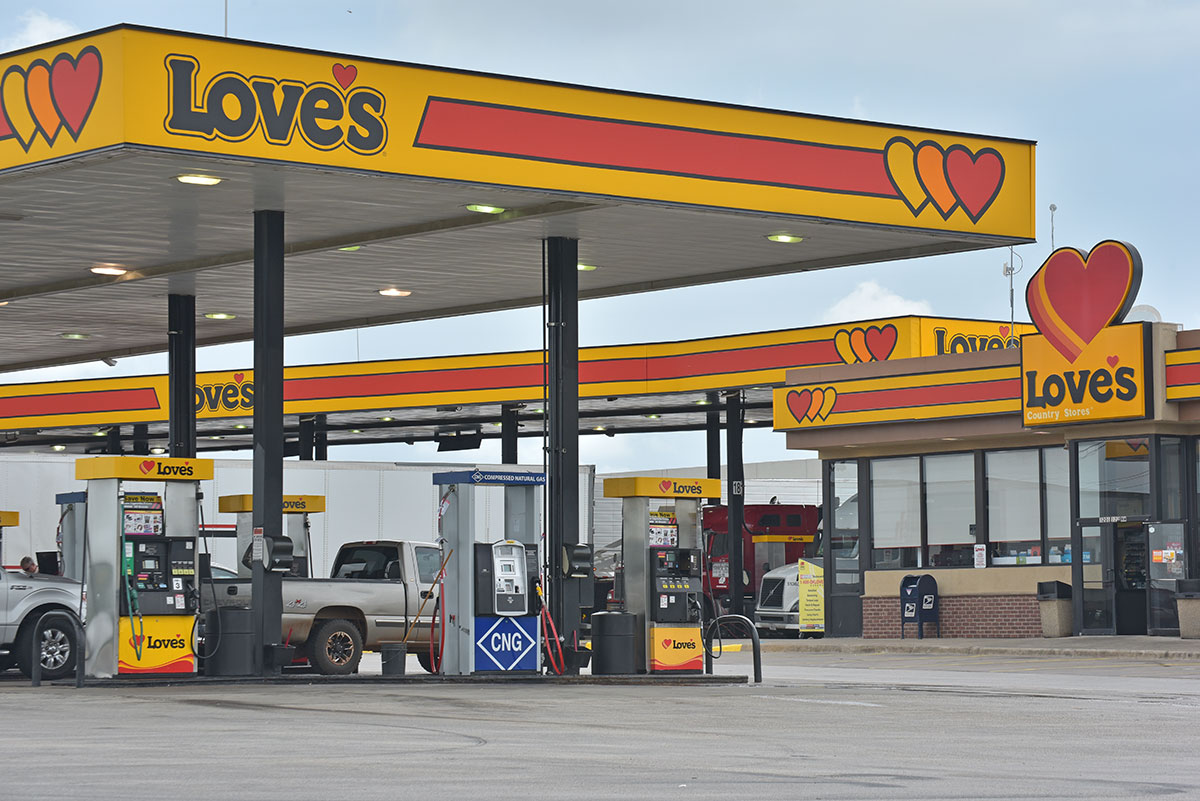 Love's Travel Stop CNG Fueling Station