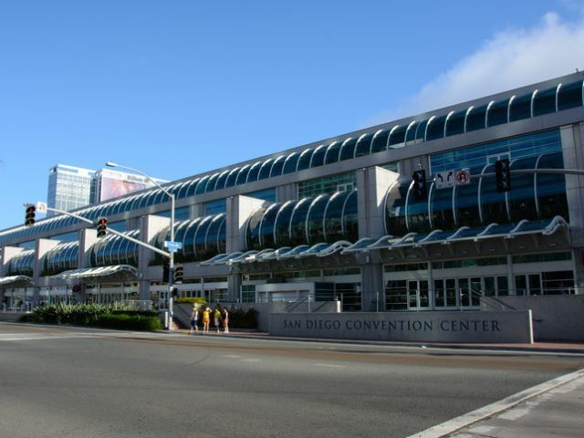 San Diego, California, USA – July 4, 2015: San Diego Convention Center in California