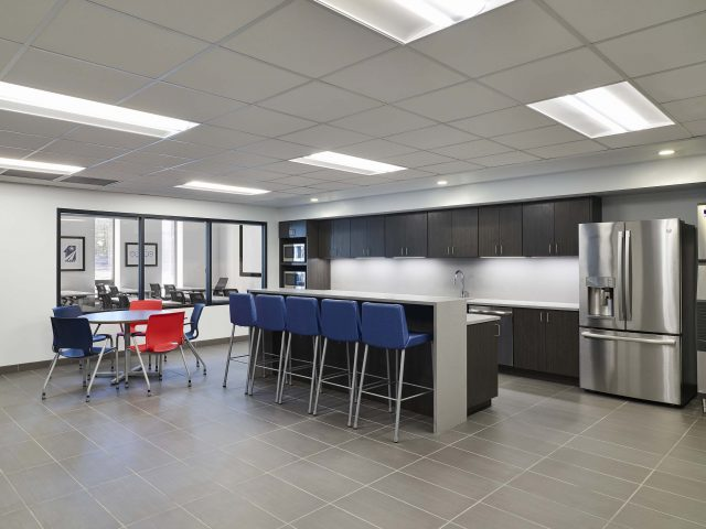 Interior of Administration Building and maintenance shop by ET Environmental